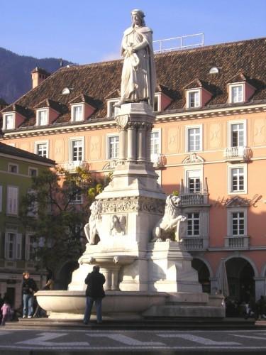 Bolzano - Fontana piazza Walter