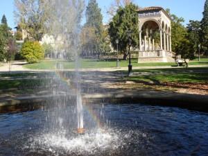 Giardino dell'Orticultura Firenze fontana e loggia Bondi