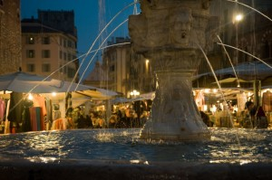 Fontana piazza erbe Verona
