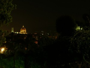 Duomo di Firenze nel verde
