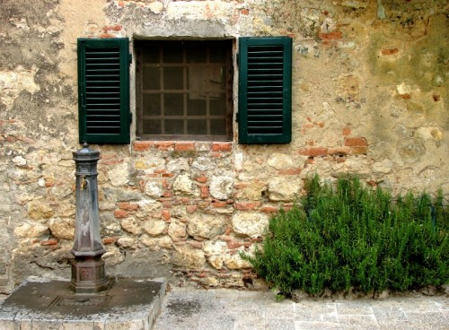 Monteriggioni - Fontanella di Monteriggioni