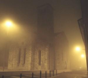 Nebbia su San Francesco