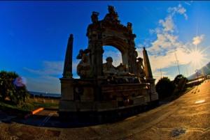Fontana del Sebeto in Largo Sermoneta