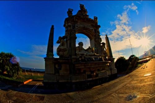 Napoli - Fontana del Sebeto in Largo Sermoneta