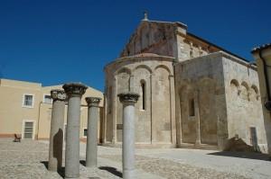 Chiesa di S.Gavino martire - Abside lato ovest