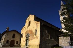 La chiesa di Cesana