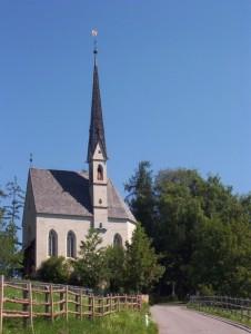 chiesa di Kematen sul Renon