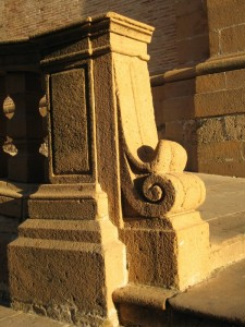 Particolare della Cattedrale di Piazza Armerina