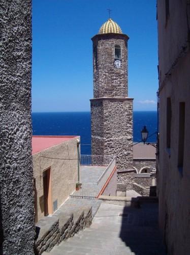 Castelsardo - Campanile sul mare