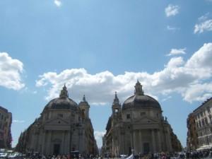 S.Maria Montesanto e S.Maria dei Miracoli