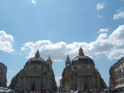Roma - S.Maria Montesanto e S.Maria dei Miracoli