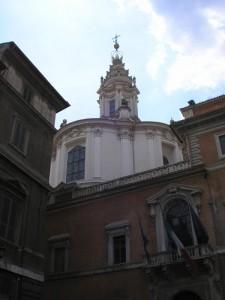 Initium Sapientia ….chiesa di S.Ivo alla Sapienza