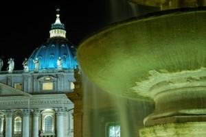 Particolari di piazza San Pietro