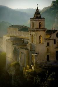 Nebbia su Matera