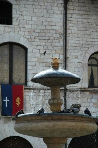 Fontana ad Assisi