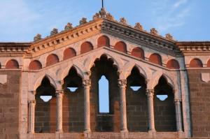 Basilica di S. Margherita (particolare)