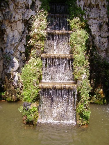 Lucca - Un scala d'acqua