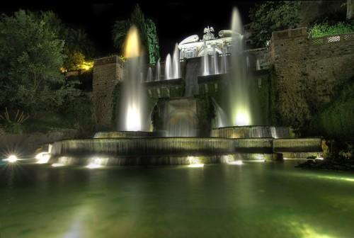 Tivoli - La grande fontana