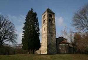 Retro Chiesa Romanica di San Secondo