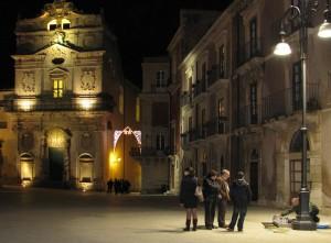 Notturna su Piazza Duomo