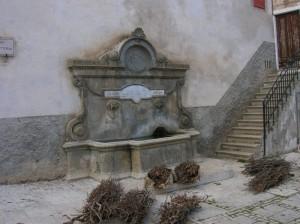 Antica fontana a Calascio