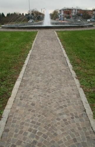 Alessandria - Fontana stradale - Frazione Spinetta