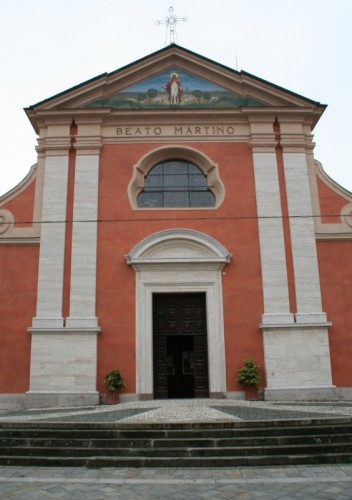 Carbonara Scrivia - San Martino (in rosso)