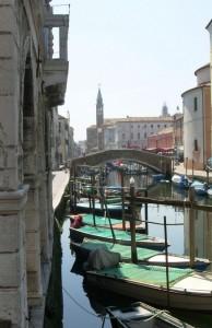 """La """"cesa"""" vista dal ponte Zitelle"""