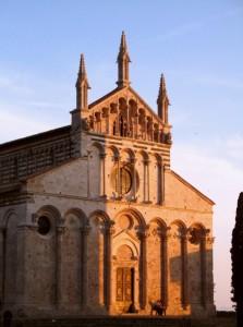 Tramonto sul Duomo di Massa Marittima