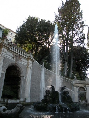 "Tivoli - ""Fontana dei Draghi"""