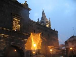 Giochi di luce sulla Cattedrale