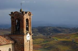 campanile visto dal Belvedere