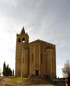 Santa Maria della Rocca - Frontale