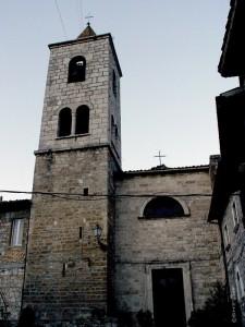 Fraz Castel Trosino - La vecchia Chiesa