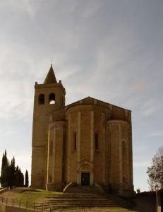 Santa Maria della Rocca- Frontale