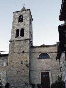 Fraz. Castel Trosino - La vecchia Chiesa
