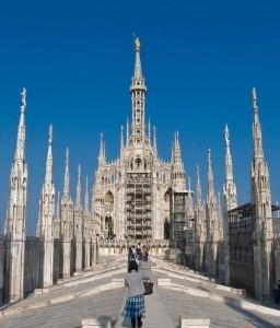 Il Cielo con un dito(Duomo di Milano)