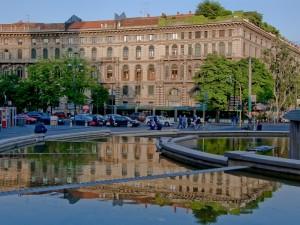 Riflessi(Fontana Parco Sempione)