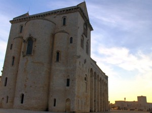 tramonto medievale