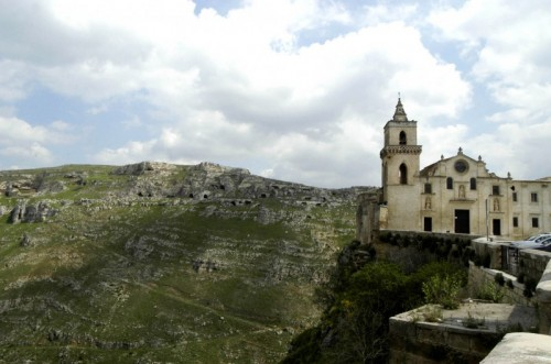 Matera - Basilica San Pietro Caveoso