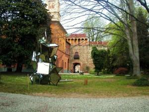 chiesa sconsacrata del castello di rivalta