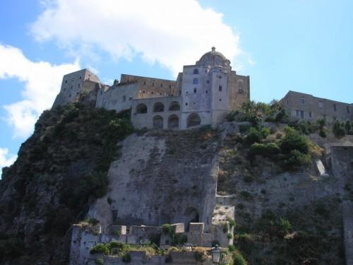 Ischia - La cupola ed il castello