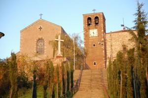 Chiesa Parrocchiale e Castello del XIII° sec.