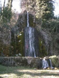 Fontana e cascata del Ninfeo di Orazio