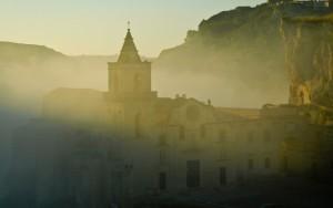 Nebbia su Matera 2