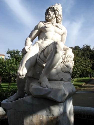 Ercolano - Fontana di Ercole, Villa Aprile, Ercolano