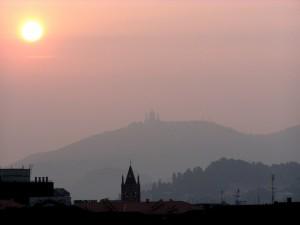 La basilica tra la città e il cielo