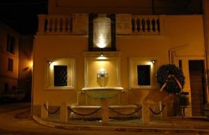 Monteleone Sabino - Fontana piazza XXIV aprile 1944