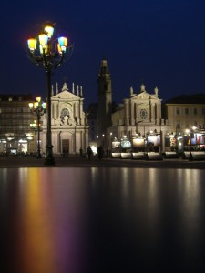 Piazza S.Carlo by night