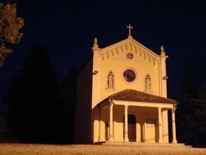 Chiesetta Madonna delle Grazie notturno